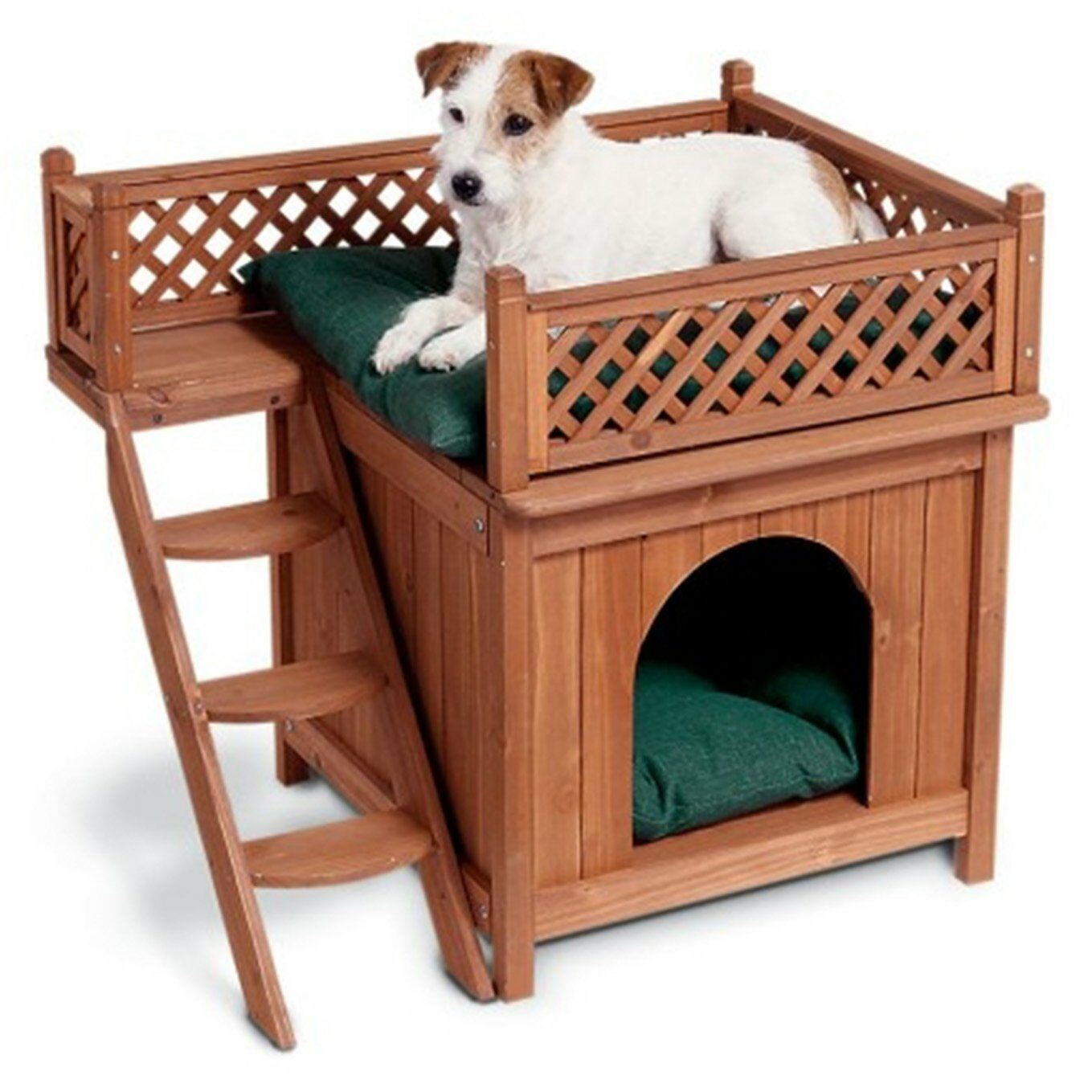 Wooden Dog Pet House Cat Room Puppy Large Kennel Indoor ...