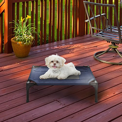 Elevated-Pet-Bed-Portable-Raised-Cot-Style-Bed-WNon-Slip-Feet-Variety-0