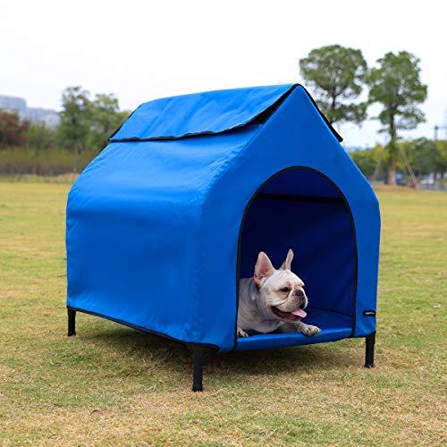 AmazonBasics-Elevated-Portable-Pet-House-0
